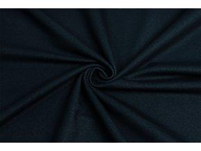 bavlneny uplet vysokogramazni jeans temne modry