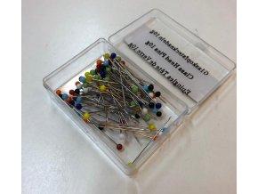 spendliky s plastovou hlavickou delka 31 mm krabicka 100 ks