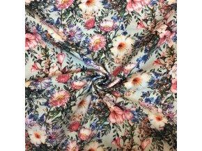 rezna bavlna modre lucni kvety 1