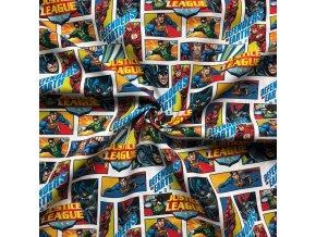 bavlnene platno superman komiks digi tisk 1