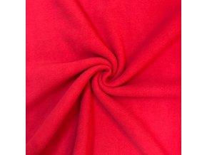 fleece cerveny 1