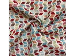 bavlna rezna zakarova barevne lichobezniky 1