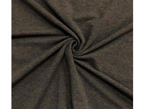 teplakovina elasticka tmave sedy melir 290 g m2