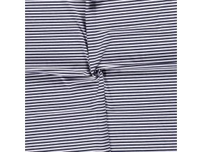bavlneny uplet pruhy modra navy a bila 0 5 cm
