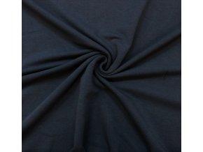 teplakovina elasticka jeans tmavy 290 g m2 1