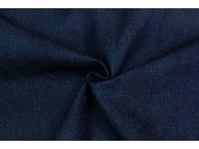riflovina 100 bavlna stredne modra