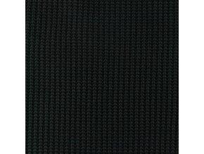 Svetrovina vzhled pletená černá - 500 g