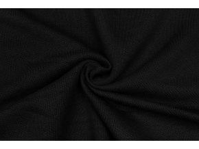 teplakovina cerna 100 bavlna 400 g m2