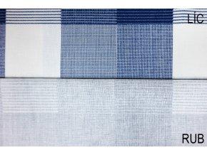 bavlnene platno karo modre tmave 1