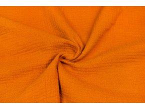 Fáčovina GOTS oranžová tmavá