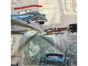 bavlna rezna stara auta 1