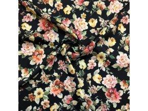umele hedvabi silky kvety barevne na cerne 1