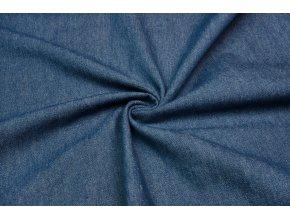Riflovina středně modrá 100% bavlna