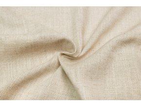Lněná tkanina přírodní