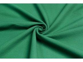 bavlneny uplet vysokogramazni jeans svetle zeleny