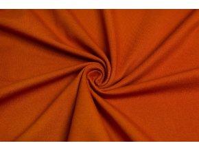 bavlneny uplet vysokogramazni jeans oranzova