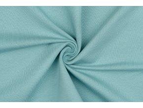 teplakovina elasticka bio modrozelena 250 g m2