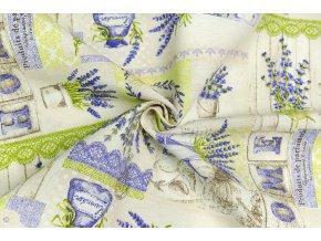 bavlna rezna levandulovy domov