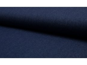 riflovina tmave modra 100 bavlna