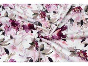 bavlneny uplet svazky kvetin