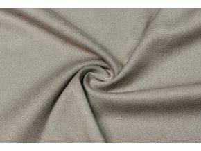 Viskózová tkanina strečová taupe 180 g/m2