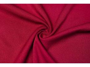 viskozova tkanina strecova bordo 180 g m2
