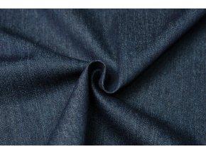 riflovina strecova modra navy 255 g m2