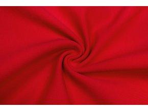teplakovina elasticka bio cervena 250 g m2