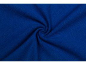 teplakovina elasticka bio kralovsky modra 250 g m2