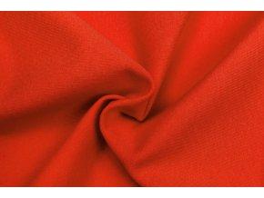 teplakovina elasticka bio tmave oranzova 250 g m2