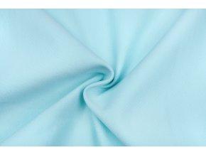 teplakovina elasticka bio svetle modra 250 g m2