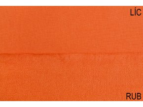 teplakovina elasticka bio oranzova 250 g m2