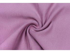 teplakovina elasticka bio tmava lila 250 g m2