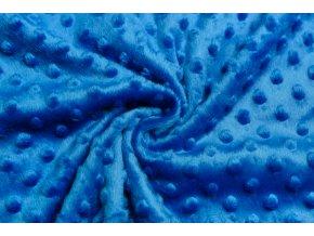 minky kralovsky modre