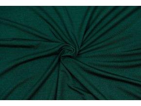 Úplet rayon lahvově zelená