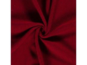 svetrovina vzhled pletena tmave cervena