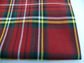 oblekovka směsová červená kostka .