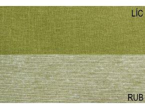 režná bavlna zelená
