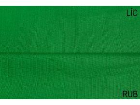 Bavlněné plátno jasně zelené