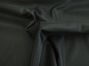 pošívka elastická černá