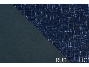Softshell žíhaný tmavě modrý