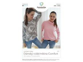 Damsky rolak mikina Comfort
