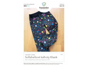 Soft kalhoty Klasik 140 170