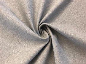 Bavlněné plátno šedý melír světlý