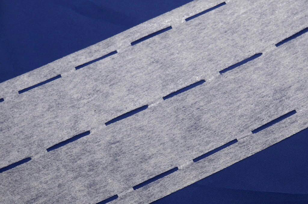 Perfopásek bílý dvojitý 80+18 g/m2