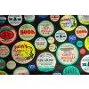 Bavlněné plátno etikety 2