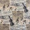 bavlnene platno hudba
