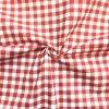 bavlnene platno cervena kostka 1