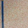 bavlnene platno barevne kyticky metr