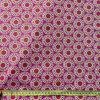 bavlnene platno premium mandaly na cyklamenu metr